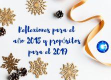 Reflexiones fin año 2018 y propósitos año nuevo 2019 de OliverCG