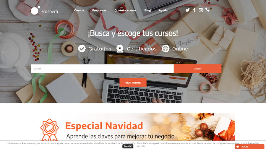 E-prospera web