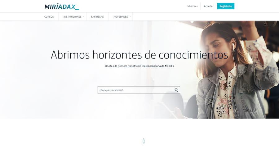 MiriadaX web