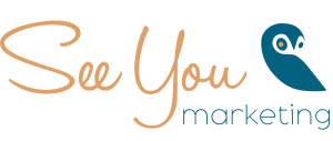 Logotipo de Seeyou Marketing, uno de mis proyectos.